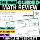 3rd Grade Common Core Math Tri-Folds - All Standards