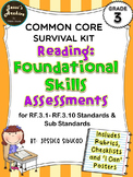 Common Core Reading Foundational Skills 3rd Grade
