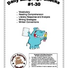 3rd Grade Daily Language Checks #1-30