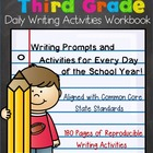 3rd Grade Daily Writing Activities Workbook