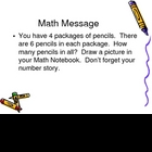 3rd Grade Everyday Math Lesson 4.1