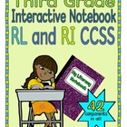 Interactive Notebook for Third Grade CCSS (Literature and