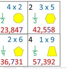 3rd Grade Math Calendar - Multiplication, Fractions, Numbe