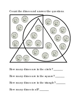 3rd grade math geometry shapes how many dime addition critical