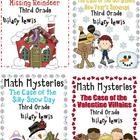 3rd Grade Math Mysteries 8 Pack - Shipped CD