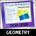 3rd Grade Math TEST Prep Task Cards Set 5 - 3.G