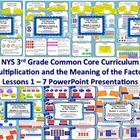 3rd Grade NYS Common Core Math Module 1 Bundle 1 - Lessons 1 - 7