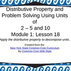 3rd Grade NYS Common Core Math Module 1 Lesson 18