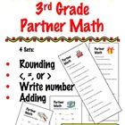 3rd Grade Partner Math - Cooperative Learning