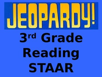 3rd Grade Reading STAAR Review Jeopardy