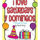 3rd Grade Reading Street - I Love Saturdays y domingos