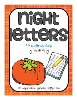 3rd Grade Reading Street - Night Letters