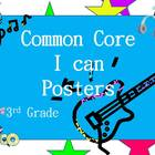 3rd Grd Common Core Standards Posters (Rock Through the St