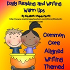 3rd and 4th Grade Reading and Writing  Warm-Ups Common Cor