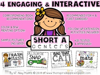 4 Engaging and Interactive SHORT A Centers!