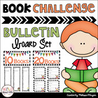 40 Book Challenge Bulletin Board Set