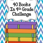 40 Books in 4th Grade Challenge