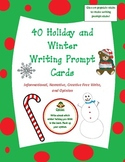 40 Common Core Winter, Christmas, and Holiday Themed Writi