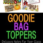 40 Goodie Bag Topper Label Cards