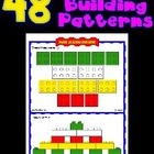 48 Block Building Pattern Sheets - Excellent Fine Motor Ac