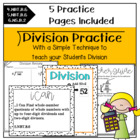 Division Common Core A New Way to Teach Division {4th, 5th