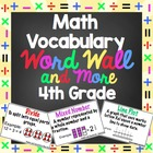 4th Grade Common Core Math Vocabulary