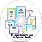 4th Grade Common Core Mathematics Bundle