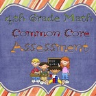 4th Grade Common Core NBT Assessment
