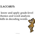 4th Grade Common Core Reading--Student Friendly--Monkey Clipart