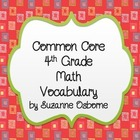 4th Grade Common Core Vocabulary