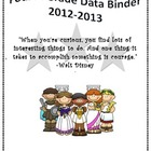 4th Grade Data Binder-Common Core Standards (Greek)