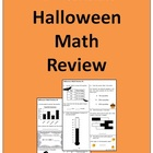 4th Grade Halloween Math Practice - Great for AIMSweb Practice