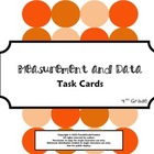 4th Grade Math Common Core Task Cards (4.MD)