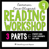 4th Grade Reading Workshop Strategies and Skills Aligned t