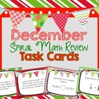 4th Grade Spiral Math Review - December