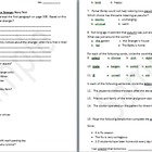 4th Language Arts HM 3.1 The Stranger Story Test & Key