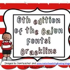 4th edition of Cajun fonts:  Cracklins