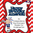 4th of July Emergent Reader FREEBIE