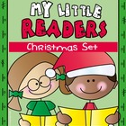5 Christmas Emergent Readers - Books, Worksheets and Games