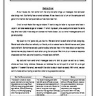 5 Oral Reading Fluency Passage - 3rd Grade