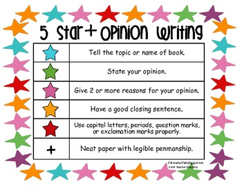 5 Star + Writing Rubrics