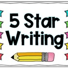 5 Star Writing in Kindergarten
