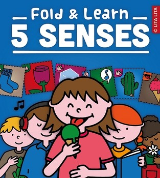 5 senses fold and learn