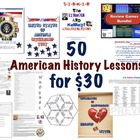 50 American History Lessons for $30