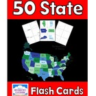 50 U.S. States and Capitals - Flash Cards