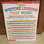 50 Writing Lessons That Work!  Teaching Resource (Grades 4-8)