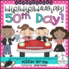50th Day of School Parent Letter and Sign-Up Sheet
