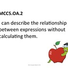 5th Grade Common Core Math for Posting Student Friendly Ap