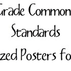 5th Grade Common Core Standards POSTERS