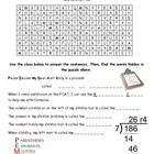 5th Grade Math Word Search